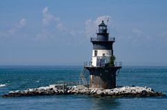 Orient Point Lighthouse Royalty Free Stock Photo
