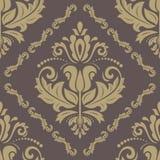 Orient sömlös vektormodell Abstrakt begrepp Royaltyfria Bilder