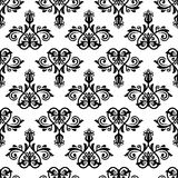 Orient Seamless  Pattern. Abstract Background. Oriental  pattern with damask, arabesque and floral elements. Seamless abstract background Royalty Free Stock Photos