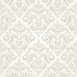 Orient Seamless  Pattern. Abstract Background. Oriental  pattern with damask, arabesque and floral elements. Seamless abstract background Stock Photo