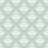Orient Seamless  Pattern. Abstract Background. Oriental  pattern with damask, arabesque and floral elements. Seamless abstract background Royalty Free Stock Photography