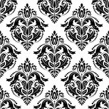 Orient Seamless Vector Pattern. Abstract. Oriental vector pattern with damask, arabesque and floral elements. Seamless abstract background vector illustration