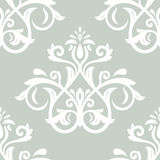 Orient Seamless Vector Pattern. Abstract. Oriental vector pattern with damask, arabesque and floral elements. Seamless abstract background Royalty Free Stock Photo