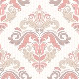 Orient Seamless Vector Pattern. Abstract. Oriental vector pattern with damask, arabesque and floral elements. Seamless abstract background Stock Image