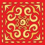 Orient square arabesque Stock Photo