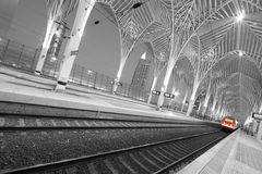 Orient station Lisbon Royalty Free Stock Photo