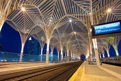 Orient station Lisbon, Portugal Stock Photo