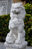 Orient stone lion Stock Photo