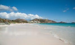 Orient strand på St Martin royaltyfri foto