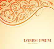 Orient style card Stock Images