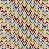 Orient style circles background Stock Image