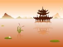 Orient-Tempel vektor abbildung