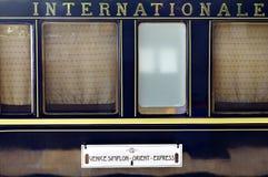 Orient uttryckt drev Royaltyfria Bilder