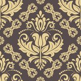 Orient vector classic pattern. Seamless abstract background with vintage elements. Orient vector classic pattern. Seamless abstract background with vintage vector illustration