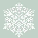 Orient vector ornamental round lace Stock Image