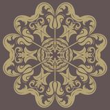 Orient vector ornamental round lace Royalty Free Stock Photos