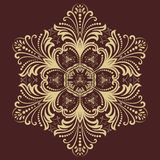 Orient vector ornamental round lace Stock Photography