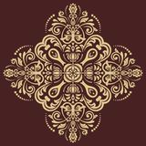 Orient vector ornamental round lace Royalty Free Stock Images