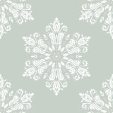 Orient Vector Pattern. Abstract Background. Oriental vector pattern with damask, arabesque and floral elements. Abstract background stock illustration