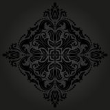 Orient Vector Pattern. Abstract Background. Oriental vector pattern with damask, arabesque and floral elements. Abstract background royalty free illustration