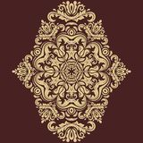 Orient Vector Pattern. Abstract Ornament Royalty Free Stock Image