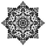 Orient-Vektor-Muster entziehen Sie Hintergrund Lizenzfreie Stockbilder