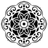Orient-Vektor-Muster entziehen Sie Hintergrund Stockbilder