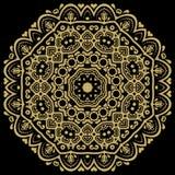 Orient-Zusammenfassungs-Muster Stockfotografie