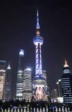 Orientał perły wierza i obwódki, Pudong, Szanghaj Zdjęcie Stock