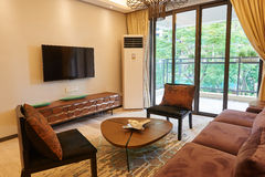 Orientała stylowy żywy pokój Fotografia Royalty Free