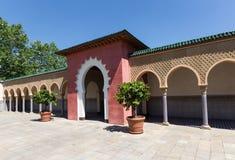 Orientała dom Morocco styl - dworski oforiental dom - Fotografia Royalty Free