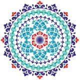 Orientała wzór i ornaments_01 Ilustracja Wektor