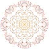 Orientała wzór Tradycyjny round kolorystyka ornament mandala Zdjęcie Royalty Free
