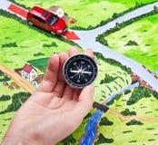 Orientacja kompas Obrazy Royalty Free