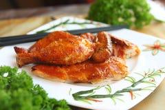 oriental зажаренный цыпленком Стоковая Фотография RF