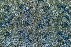 Oriental или Пейсли, турецкий огурец, разрыв Аллаха, индейца или Стоковая Фотография