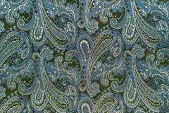 Oriental или Пейсли, турецкий огурец, разрыв Аллаха, индейца или Стоковые Фото