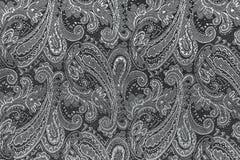 Oriental или Пейсли, турецкий огурец, разрыв Аллаха, индейца или Стоковое Изображение