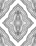 Oriental abstract ornament. Royalty Free Stock Photography