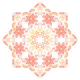 Oriental Abstract Pattern. Oriental colorful pattern with arabesques and floral elements. Traditional classic ornament Royalty Free Stock Image