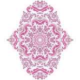 Oriental Abstract Vector Pattern Royalty Free Stock Image