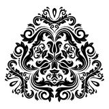 Oriental Abstract Vector Pattern Royalty Free Stock Photography