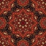 oriental abstrakcjonistyczny wzór Fotografia Royalty Free