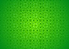 Green Floral Nature Vintage Ornamental Oriental Arabian Tile Textile Pattern Background Wallpaper stock illustration