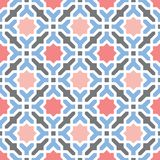 Oriental arabian geometrical decorative pattern vector illustration