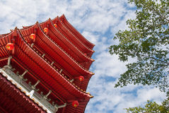 Oriental architecture Stock Images