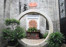 Oriental architecture of Guangzhou Villa Stock Image
