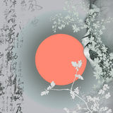 Oriental background Royalty Free Stock Image