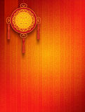 Oriental Background. Oriental - Chinese - Background with Copyspace vector illustration