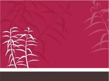 Oriental background stock illustration